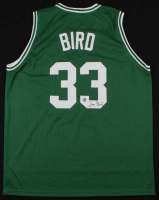 Larry Bird Signed Boston Celtics Jersey (Bird Hologram)