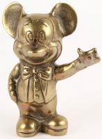 Vintage 1977 Brass Mickey Mouse Figure