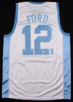 "Phil Ford Signed North Carolina Tar Heels Jersey Inscribed ""78 POY"" (PSA Hologram) at PristineAuction.com"