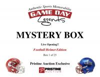Game Day Legends Mystery Box Full-Size Helmet Edition -Tom Brady (x3), Peyton Manning, Patrick Mahomes & More - Live Box Break #1/25