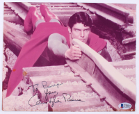 """Christopher Reeve Signed """"Superman: The Movie"""" 8x10 Photo (Beckett LOA)"""