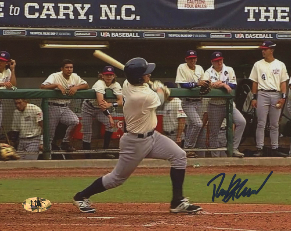 Ryan Braun Signed Team USA 8x10 Photo (MAB Hologram) at PristineAuction.com