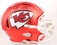 Patrick Mahomes Signed Kansas City Chiefs Full-Size Chrome Speed Helmet (JSA COA) (Imperfect) at PristineAuction.com