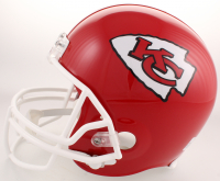 Patrick Mahomes Signed Kansas City Chiefs Full-Size Helmet (JSA COA) at PristineAuction.com