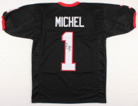 Sony Michel Signed Georgia Bulldogs Jersey (JSA COA)