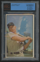 1953 Bowman Color #59 Mickey Mantle (BVG Authentic)