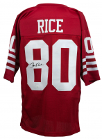 Jerry Rice Signed San Francisco 49ers Jersey (JSA COA)