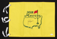 Jack Nicklaus Signed 2018 Masters Tournament Pin Flag (JSA LOA)