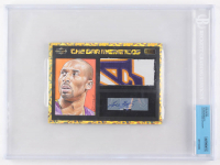 2018 The Bar #NNO Kobe Bryant / The Bar Mementos / Certified Panini Autograph (BGS Authentic)