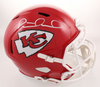 Patrick Mahomes Signed Kansas City Chiefs Full-Size Speed Helmet (JSA COA) at PristineAuction.com