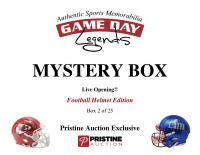 Game Day Legends Mystery Box Full-Size Helmet Edition -Tom Brady (x3), Peyton Manning, Patrick Mahomes & More - Live Box Break #2/25