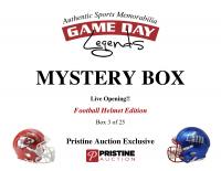 Game Day Legends Mystery Box Full-Size Helmet Edition -Tom Brady (x3), Peyton Manning, Patrick Mahomes & More - Live Box Break #3/25