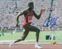 Carl Lewis Signed Team USA 8x10 Photo (MAB Hologram)