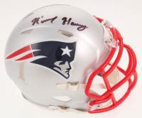 N'Keal Harry Signed New England Patriots Speed Mini Helmet (Beckett COA)