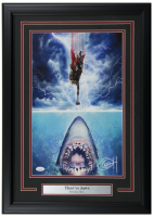 "Greg Horn Signed ""Thor vs Jaws"" 17x25 Custom Framed Lithograph Display (JSA COA) at PristineAuction.com"