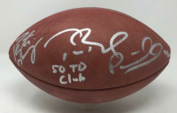 "Tom Brady, Peyton Manning & Patrick Mahomes Signed ""The Duke"" Official NFL Limited Edition Game Ball Inscribed ""50 TD Club"" (Fanatics Hologram)"