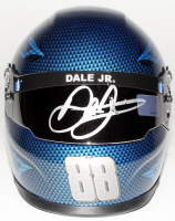 Dale Earnhardt Jr. Signed NASCAR Nationwide 1:3 Scale Mini-Helmet (Dale Jr. Hologram) (Imperfect) at PristineAuction.com