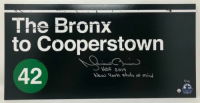 "Mariano Rivera Signed ""Bronx to Cooperstown"" 10x20 Limited Edition Photo Inscribed ""HOF 2019"" & ""New York State of Mind"" (Steiner COA) at PristineAuction.com"