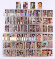 Complete Set of (421) 1957 Topps Baseball Cards with #1 Ted Williams, #95 Mickey Mantle, #35 Frank Robinson, #328 Brooks Robinson