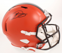 Odell Beckham Jr Signed Cleveland Browns Full-Size Speed Helmet (JSA COA)