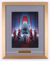 """IMAX  """"Star Wars: The Last Jedi"""" Special Edition Art 15.5x19 Custom Framed Print Display"""