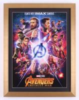 """Avengers: Infinity War"" 17x22 Custom Framed Movie Poster Display"