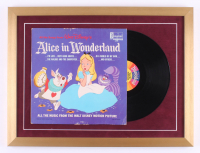 "Walt Disney's ""Alice in Wonderland"" Vinyl Record Album 18x24 Custom Framed Display"