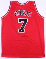 Toni Kukoc Signed Chicago Bulls Jersey (Beckett COA)
