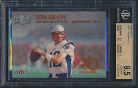 2000 Metal #267 Tom Brady RC (BGS 9.5)