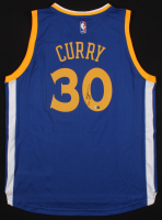 Stephen Curry Signed Adidas Swingman Warriors Jersey (Fanatics COA)