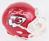 Patrick Mahomes Signed Kansas City Chiefs Speed Mini Helmet (JSA COA)