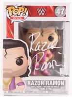 "Razor Ramon Signed ""WWE"" Razor Ramon #47 Funko Pop! Vinyl Figurine (Pro Player Hologram)"