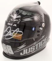"Dale Earnhardt Jr. Signed ""Batman vs. Superman"" Racing Mini Helmet (Earnhardt Jr. COA)"