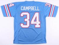 Earl Campbell Signed Houston Oilers Jersey (JSA COA)