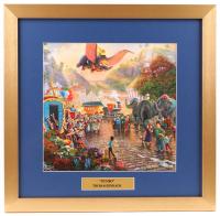 "Thomas Kinkade Walt Disney's ""Dumbo"" 17.5x18 Custom Framed Print"