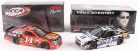 Lot of (2) Tony Stewart LE 1:24 Scale Die-Cast Cars with (1) #14 Mobil 1 2015 SS & (1) #14 Bass Pro Shops 2014 SS