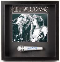 "Christine McVie Signed ""Fleetwood Mac"" 15x16x3 Custom Framed Microphone Shadowbox Display (JSA COA)"