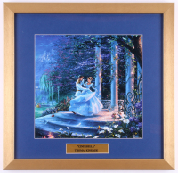 "Thomas Kinkade Walt Disney's ""Cinderella"" 17.5x18 Custom Framed Print Display"