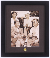Masters 13x15 Custom Framed Photo with Ben Hogan, Bobby Jones, & Byron Nelson With Masters Pin