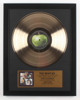 "The Beatles Custom Framed 15.75x19.75 Gold Plated ""Let It Be"" Record Album Award Display"