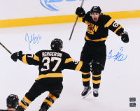 Patrice Bergeron & Brad Marchand Signed Boston Bruins 16x20 Photo (Bergeron & Marchand COA)