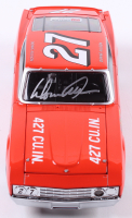 Donnie Allison Signed NASCAR #27 1969 Torino Cobra 1:24 Premium Diecast Car (PA COA) at PristineAuction.com