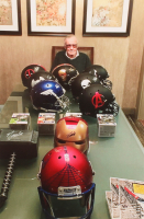 "Stan Lee Signed Custom ""Venom"" Full-Size Helmet (Radtke COA & Lee Hologram) at PristineAuction.com"