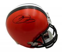 Odell Beckham Jr Signed Cleveland Browns Full-Size Helmet (JSA COA)
