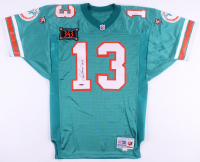 "Dan Marino Signed LE Dolphins All-Time Touchdown Pass Leader - Authentic Wilson Pro Line Jersey Inscribed ""343"" #9/343 (Upper Deck COA)"