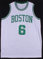Bill Russell Signed Boston Celtics Jersey (Russell Hologram & Beckett COA)