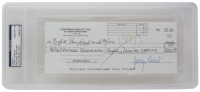 Jerry Garcia Signed 1990 Personal Bank Check (PSA Encapsulated)