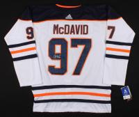 Connor McDavid Signed Edmonton Oilers Captain's Jersey (JSA ALOA)