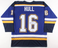 Brett Hull Signed St. Louis Blues Jersey (Beckett COA) at PristineAuction.com