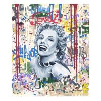 "Nastya Rovenskaya Signed ""Smile"" 20x24 Original Oil on Canvas at PristineAuction.com"